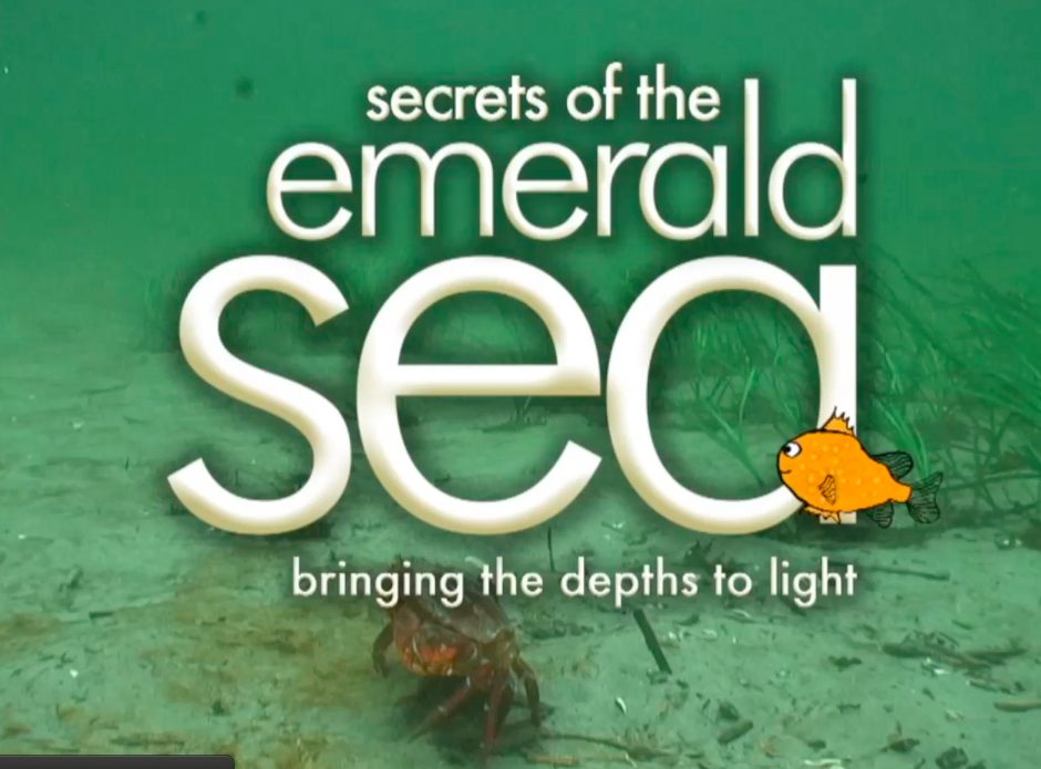 Secres of the Emerald Sea cover graphic