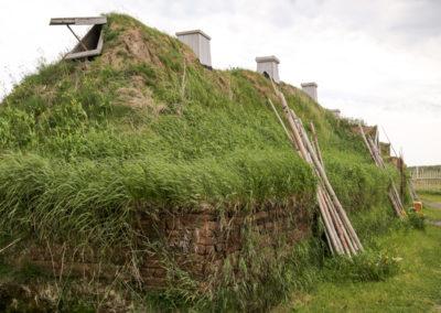 L'Anse aux meadows sod hut