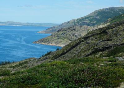 Northern Labrador coastline
